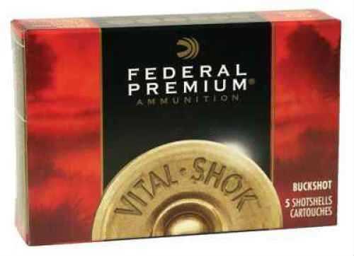 """Federal PRM BUCK 12G 3""""MAG #4 5BX P158 4B"""