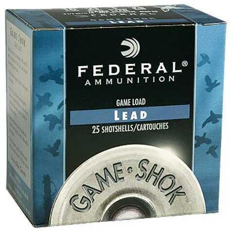 "Federal Cartridge Federal Game Shok Magnum 12 Ga. 2 3/4"" 1 1/2 oz, #5 Lead Shot"