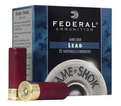 """Federal Cartridge High Brass 16 Ga. 2 3/4"""" 1 1/8 oz #7 1/2 Lead Shot 25 Rounds Per Box Ammunition Md: H16375 Case Pric H16375"""