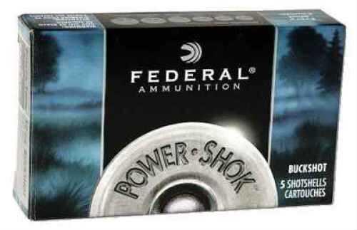 "Federal Cartridge 12 Gauge Shotshells Classic Buckshot 2 3/4"" Mag dram 12 Pellets 00 Buck (Per 5) F13000"