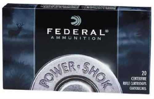 Federal PWR SHOK 3006 180GR SP 20BX 3006B