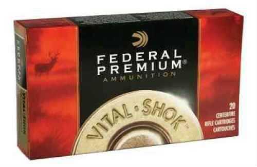 Federal Cartridge 6mm Remington 6mm Remington, 100 Grain, Nosler Partition, (Per 20) P6C