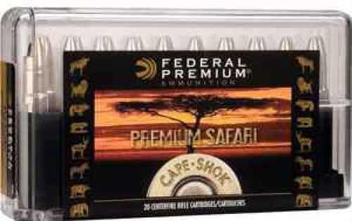 Federal Cartridge 470 Nitro Express by Federal 470 Nitro Exp, 500gr, Weldcore Soft Point, (Per 20) P470A