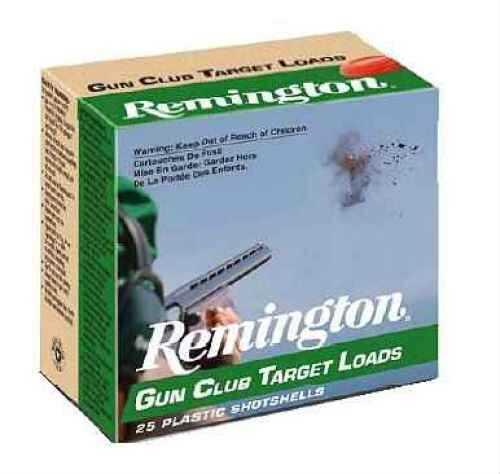 "Remington Target load 12 Ga. 2 3/4"" 1 1/8 oz #7 1/2 Lead Shot 25 Rounds Per Box Ammunition Case Price 250 Roun GC127"