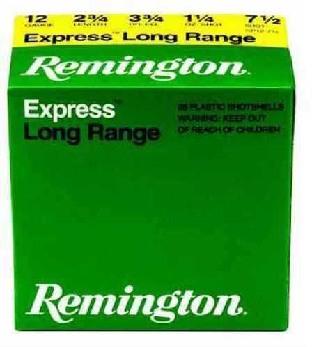 """Remington 12 Ga. 2 3/4"""" 1 1/4 oz #7 1/2 Lead Shot 25 Rounds Per Box Ammunition Md: SP1275 Case Price 250 Round SP1275"""