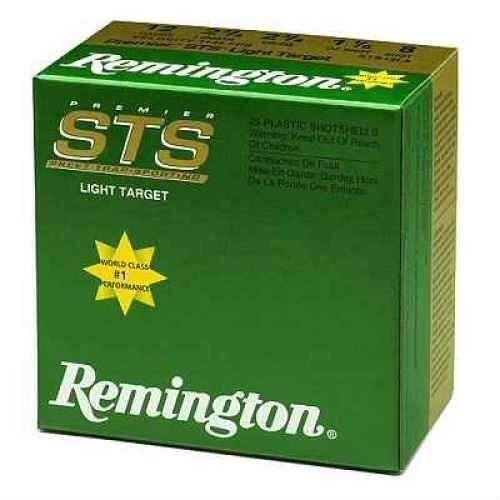 """Remington Premier STS Target Load 12 Ga. 2 3/4"""" 1 1/8 oz #8 Lead Shot 25 Rounds Per Box Ammunition Case Price STS12L8"""