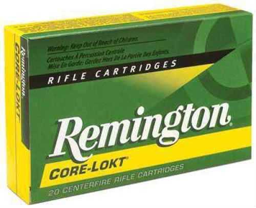 Remington Core Lokt 30-06 180 Grain Pointed Soft Point 20 Round Box 27828
