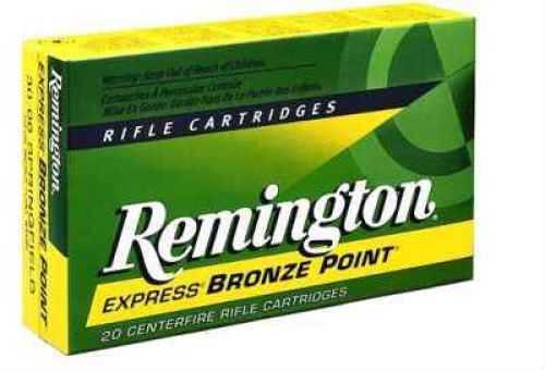 Remington 375 Holland & Holland Magnum by 375 H&H Mag, 270 Grain, Soft Point, (Per 20) 29097-R375M1