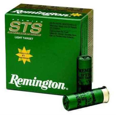 """Remington Premier STS Target Load 12 Ga. 2 3/4"""" 1 oz #7 1/2 Lead Shot 25 Rounds Per Box Ammunition Case Price STS1217"""