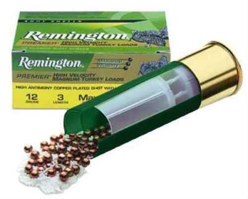 "Remington Premier Magnum Turkey 12 Ga. 2 3/4"" 1 1/2 oz #4 Copper Plated Lead 10 Rounds Per Box Ammun P12SM4"