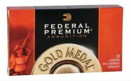 Federal Cartridge 30-06 Springfield 30-06 Springfield, 168 grain, BTHP Match, (Per 20) GM3006M