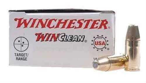 Winchester Ammunition USA 380 ACP 95 Grain Brass Enclosed Base Clean 50 Round Box WC3801