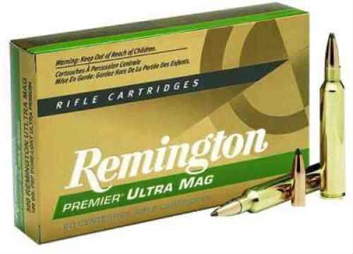 Remington 7MM Rem. Short Ultra Mag 150 Grain Premier Pointed Soft Point Ammunition Md: PR7SM2