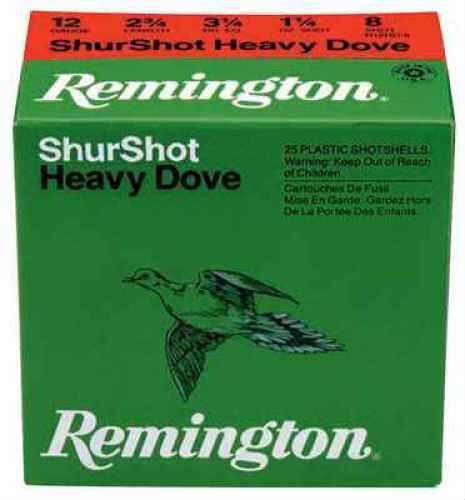 Remington 20ga Hvy Dove 1oz Per 25 Ammunition Case Price 250 Rounds RHD208