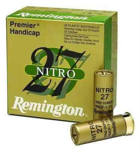 "Remington Premier STS Target Load 12 Ga. 2 3/4"" 1 oz #7 1/2 Lead Shot Ammunition Md: STS12NH17 Case Price 250 STS12NH17"