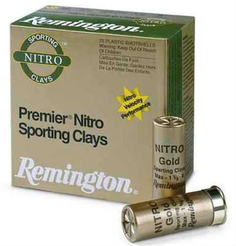 """Remington Premier STS Target Load 12 Ga. 2 3/4"""" 1 1/8 oz #8 Lead Shot 25 Rounds Per Box Ammunition Case Price STS12NSC8"""
