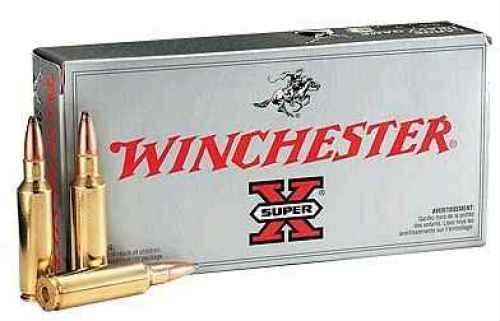 Winchester 223 Winchester Super Short Magnum 223 WSSM, 55gr,Super-X Pointed Soft Point, (Per 20) X223WSS