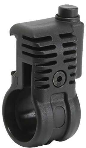 "EMA Tactical Flashlight Mount 1"" Flashlight Picatinny Style Black Finish PLS1Q"