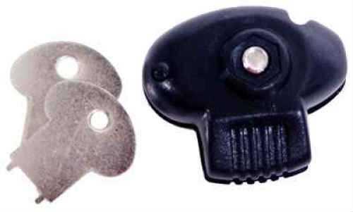 DAC Technologies DAC Plastic Trigger Lock 2 Key Black 25pk TVP095MP