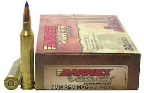 Barnes Bullets VOR-TX 7mm Remington Magnum Per 20 TTSX-BT, 140gr 21526
