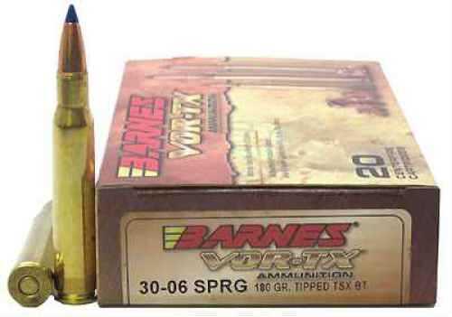 Barnes Bullets VOR-TX 30-06 Springfield Per 20 TTSX-BT, 180gr 21533
