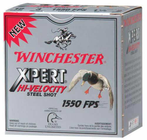 Winchester XPERT 12Ga 3MG 1 1/16 STL Per 25 Ammunition Case Price 250 Rounds WEX123M2