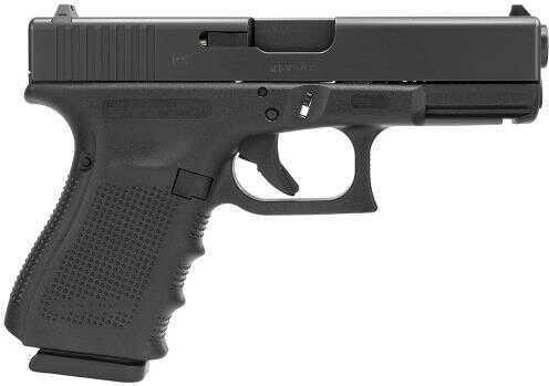 "Glock G23 Gen4 40 S&W 4.02"" Barrel 10+1 Rounds Fixed Sights Polymer Grip Matte Black Semi Automatic Pistol PG2350201"