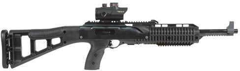 "Hi-Point 40 S&W 17.5"" Barrel 10 Round Red Dot Scope Black Skeletonized Stock Semi Automatic Rifle 4095TSRD"