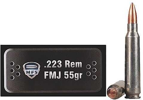 Ruag Ammotec Remington/5.56 Nato FMJ 55 GR 20 Rounds Ammuntion USA Inc MFS 20020