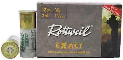"Rottweil Exact Rottweil Exact 12ga Standard, 12ga, 2.75"" Slug Per 5"
