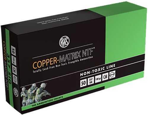 Ruag Ammotec 235740050 Copper Matrix 357 Sig 100 GR Non Toxic/Frangible (Per 50) CM357S