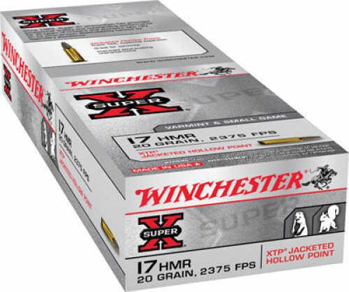 Winchester X17HMR1 17HMR 20XTP Per 50 Ammunition