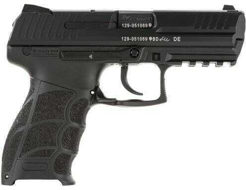 """Pistol Heckler & Koch H&K P30 P30S 9mm Luger 3.85"""" 14+1 Black Grip Black Finish 730901A5"""