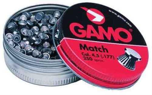 Gamo Match Pellets (Flat) .177 Cal 632002454