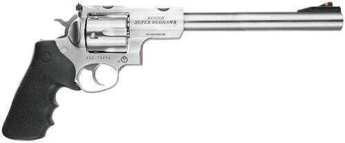 """Ruger KSRH-9 44 Remington Magnum 9.5"""" Barrel Stainless Steel 6 Round Revolver 5502"""