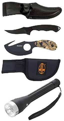 Meyerco 3 Piece Combo Folder/Field Knife/Light Camo Handle MO3PCCOMBSET