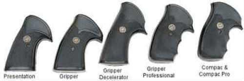 Pachmayr Grip Presentation Black Except XR3 Rug New Model Blackhawk 3137