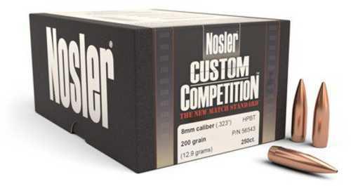 Nosler CUST COMP 8MM 200 HPBT 100 49524