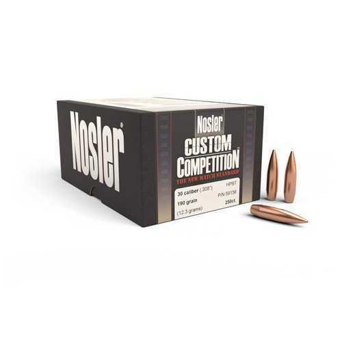 Nosler CUST COMP 308 190 HPBT 250 59156