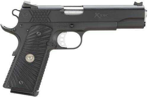 "Wilson Combat X-Tac 45ACP 5""Barrel 8+1 Rounds G-10 Starburst Grip Black Finish Semi Automatic Pistol XTCFS45"
