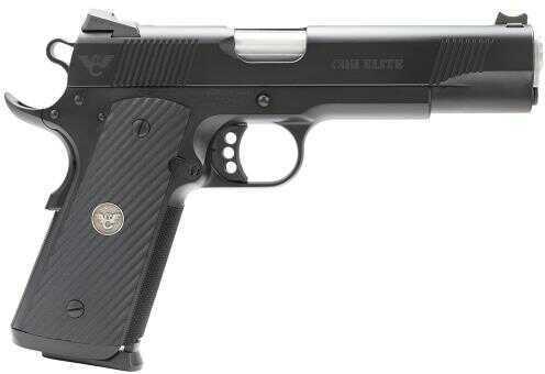 "Wilson Combat CQB Elite 45ACP 5"" Barrel 8+1 Rounds G-10 Diagonal Grip Black Finish Semi Automatic Pistol CQBEFS45"