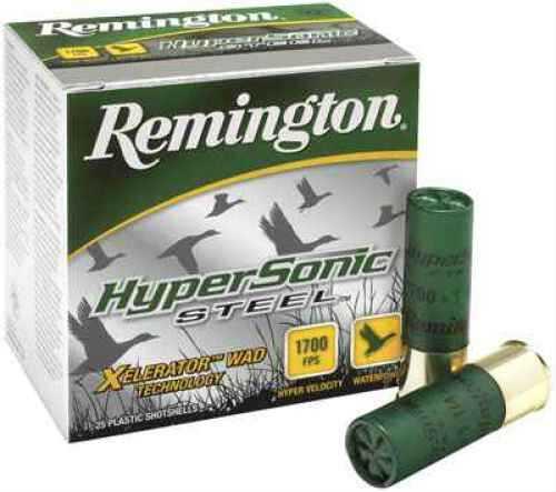 "Remington Hypersonic Steel 10 Ga 3.5"" 1.5Oz Bbb 25Rd HSS10C"