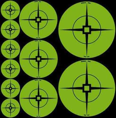 "Birchwood Casey Target Spots Green 60-1"", 30-2"", 20-3"" 33938"