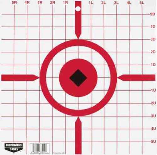 "Birchwood Casey Rigid 12""Crosshair Sight-In Target /10 37210"