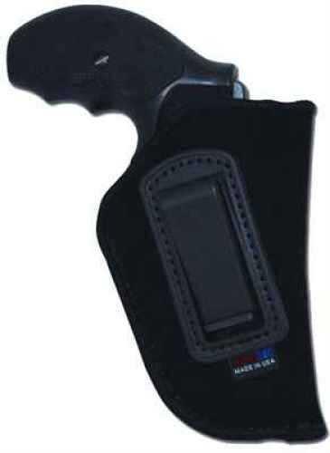 Grovtec USA Inc. Grovtec US Inc Inside-the-Pants Holster RH 01 Black Lammy Suede GTHL14101R