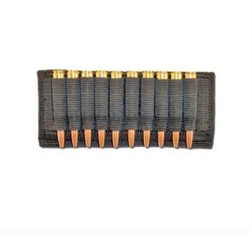 Grovtec USA Inc. Grovtec US Inc Cartridge Slide Holder Any Rifle Ammo Black Elastic/Nylon GTAC86