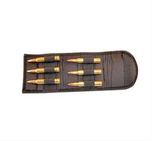 Grovtec USA Inc. Grovtec US Inc Folding Cartridge Holder Any Magn Rifle Black Elastic/Nylon GTAC90