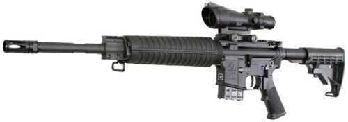 "Rifle ArmaLite, Inc Armalite M-15 CB SA 6.8mm SPC (6.8x43mm) 16"" 10+1 Black Synthetic Col Stock Black 15A4CB68"