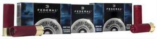 "Federal PowerShok Ammunition 10 Gauge 3.5"" 1-3/4oz Rifled Slug Hollow Point 5 Round Box F103FRS"