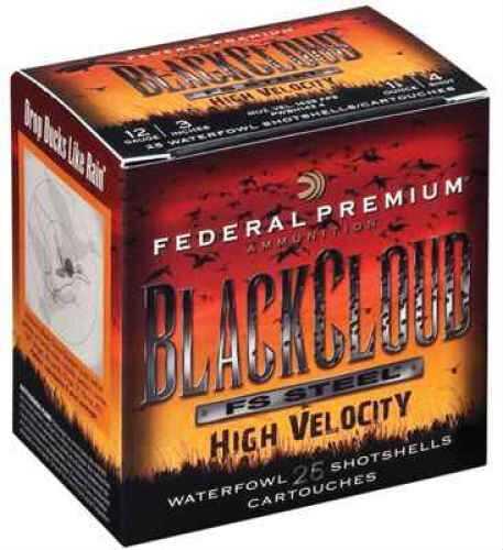 "Federal Cartridge 12GA 3"" 1 1/8oz #4 Black Cloud® High Velocity AMMUNITION Case Price 250 Rounds PWBH1434"